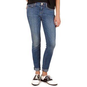 CURRENT/ELLIOTT | Rolled Skinny Jean in Yesterday